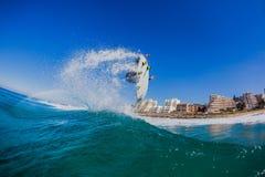 Surfingowa powietrza wiru woda Fotografia Royalty Free