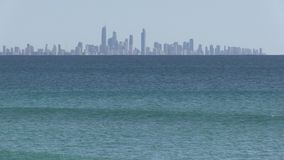 Surfingowa ` s raj widzieć od Coolangatta zdjęcie wideo