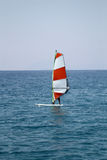 surfingowa wiatr Obraz Royalty Free