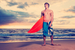 Surfingowiec Obrazy Royalty Free
