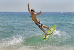 surfingowiec Zdjęcia Stock