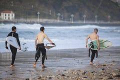 surfingowowie Zdjęcie Stock