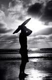 Surfista Fotografie Stock