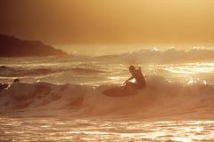 Surfista Fotografia Stock Libera da Diritti