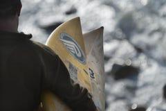 Surfista al viale di Ruggles Fotografie Stock