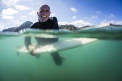Surfista avivado Imagem de Stock Royalty Free