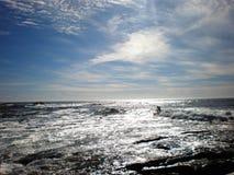 Surfista de Siver Imagens de Stock Royalty Free