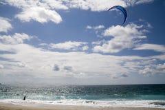 Surfista del cervo volante Immagine Stock