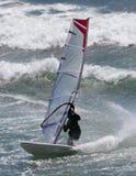 Surfista del vento Fotografia Stock