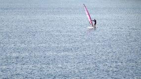 Surfista del vento Immagini Stock Libere da Diritti