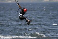 Surfista dell'aquilone Immagine Stock Libera da Diritti