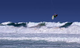 Surfista dell'aquilone di Sydney Immagine Stock Libera da Diritti
