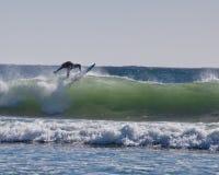 Surfista dell'isola Immagine Stock