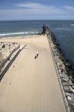 Surfista della sosta di condizione del Delaware Fotografia Stock