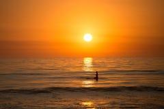 Surfista di La Jolla Fotografia Stock Libera da Diritti