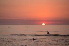 Surfista di La Jolla Fotografie Stock
