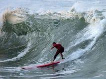 Surfista di preriscaldamento Fotografie Stock Libere da Diritti