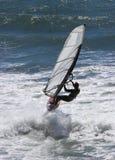 Surfista do vento Fotos de Stock