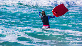 Surfista novo Fotos de Stock Royalty Free