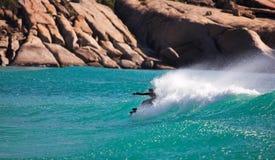 Surfista ocidental #2 do cabo foto de stock royalty free