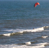 Surfista-SC do vento fotos de stock