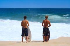 Surfistas Imagem de Stock Royalty Free