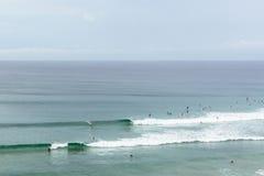 Surfistas de Coolangatta Fotografia de Stock