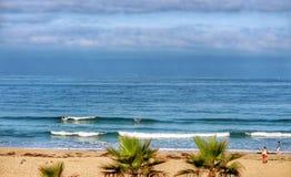 Surfistas de meu hotel Foto de Stock