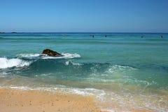 Surfistas de St Ives Imagem de Stock