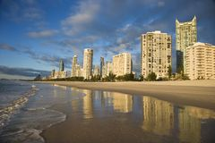 Surfistas paraíso, Austrália. Foto de Stock