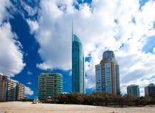 Surfistas paraíso, Gold Coast Imagem de Stock
