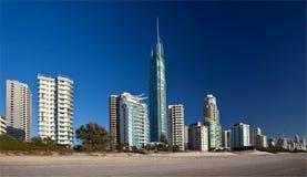Surfistas paraíso, Gold Coast Imagens de Stock