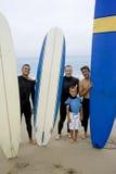 Surfisti Fotografia Stock