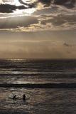 Surfisti dello Sligo Immagine Stock Libera da Diritti