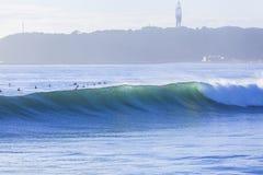 Surfisti di Wave Fotografia Stock Libera da Diritti