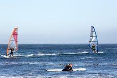 Surfisti in Los Angeles-area Immagini Stock Libere da Diritti