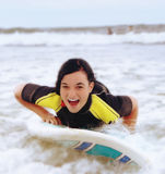 Surfistka d'Ivka Images libres de droits