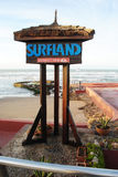 Surfland photo libre de droits