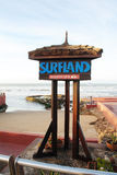 Surfland Royalty Free Stock Photography