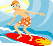 Surfman Stock Images