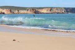 Surfować na paddleboard Zdjęcie Royalty Free