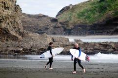Surfować - odtwarzanie i sport Fotografia Stock