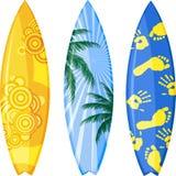 Surfplank stock illustratie