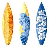 Surfplank vector illustratie