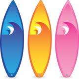 Surfplanken royalty-vrije illustratie