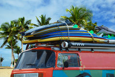 Surfplanken Royalty-vrije Stock Fotografie