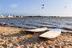 surfplanken Royalty-vrije Stock Foto's