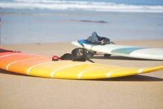 surfplanken Royalty-vrije Stock Afbeeldingen