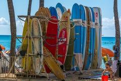 surfplanken Stock Afbeelding