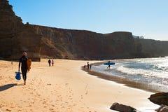 Surfpoint, Португалия стоковые фотографии rf